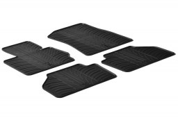 BMW X3 (F25) 2010-2017 car mats set anti-slip Rubbasol rubber (BMW2X3FR)