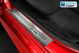 BMW X6 (F16) entry guards / Einstiegsleisten / instaplijsten / seuils de portes (BMW2X6EG)