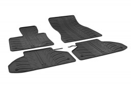 BMW X6 (F16) 2014-present car mats set anti-slip Rubbasol rubber (BMW2X6FR)