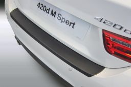 BMW 4 Series Gran Coupé (F36) 2014-> 5-door hatchback rear bumper protector ABS (BMW34SBP)