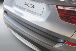 BMW X3 (F25) 2014-2017 rear bumper protector ABS (BMW4X3BP)