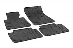 BMW 3 Series Touring (E46) 1998-2005 wagon car mats set anti-slip Rubbasol rubber (BMW53SFR)