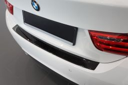 BMW 4 Series Gran Coupé (F36) 2014-> 5-door hatchback rear bumper protector carbon (BMW54SBP) (1)