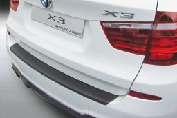 BMW X3 (F25) 2014-2017 rear bumper protector ABS (BMW5X3BP)