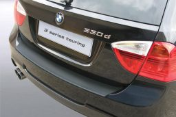 BMW 3 Series Touring (E91) 2005-2012 rear bumper protector ABS (BMW83SBP)