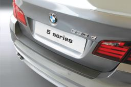 BMW 5 Series (F10) 2010-2017 4-door saloon rear bumper protector ABS (BMW85SBP)