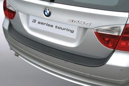 BMW 3 Series Touring (E91) 2005-2008 rear bumper protector ABS (BMW93SBP)