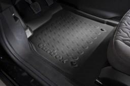 Example - Carbox car mat PE rubber - front-left - black (2)