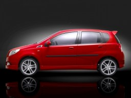 Chevrolet Aveo '08-'11 side protection set
