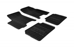 Chevrolet - Daewoo Aveo (T250) 2008-2011 3 & 5-door hatchback car mats set anti-slip Rubbasol rubber (CHE1AVFR)