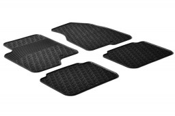 Chevrolet - Daewoo Captiva 2006-2016 car mats set anti-slip Rubbasol rubber (CHE1CAFR)