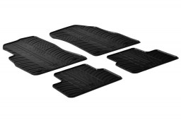 Chevrolet - Daewoo Cruze (J300) 2009-2016 4-door & wagon car mats set anti-slip Rubbasol rubber (CHE1CRFR)