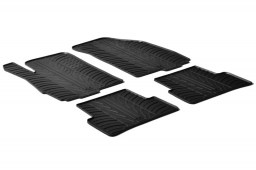 Chevrolet - Daewoo Aveo (T300) 2011-2016 4 & 5-door car mats set anti-slip Rubbasol rubber (CHE2AVFR)