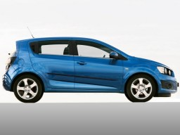 Chevrolet Aveo '11- side protection set