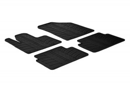 Citroën C5 (RD-TD) 2008-2017 4-door saloon car mats set anti-slip Rubbasol rubber (CIT1C5FR)