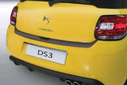 Citroën DS3 2009-> 3-door hatchback rear bumper protector ABS (CIT1D3BP)