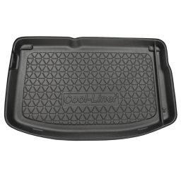 Citroën DS3 2009- 3d trunk mat anti slip PE/TPE (CIT1D3TM)