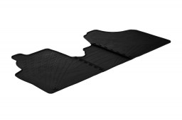 Citroën Jumpy II 2007-2016 car mats set anti-slip Rubbasol rubber (CIT1JYFR)