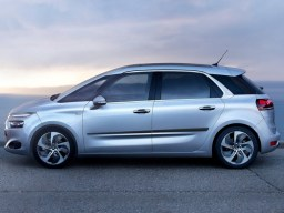 Citroën C4 Picasso '13- side protection set