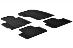 Citroën C4 Aircross 2012-2017 car mats set anti-slip Rubbasol rubber (CIT3C4FR)