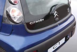 Citroën C1 I 2005-2014 3 & 5-door hatchback rear bumper protector ABS (CIT5C1BP)
