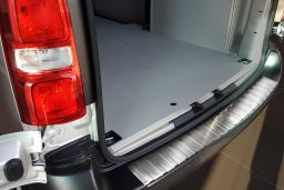 Citroën Jumpy III 2016-> rear bumper protector stainless steel (CIT5JYBP) (1)