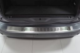 Citroën Grand C4 Picasso II 2013-> rear bumper protector stainless steel (CIT7C4BP) (2)