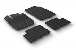 Dacia Duster 2014-2017 car mats set anti-slip Rubbasol rubber (DAC2DUFR)