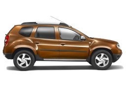 Dacia Duster '10- side protection set