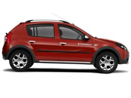 Dacia Sandero '08-'12 5d side protection set