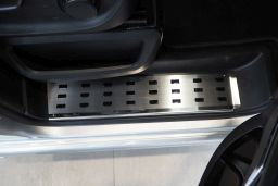 Example interior door sill stainless steel - front (EA)
