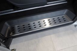 Example interior door sill stainless steel - rear (EA)