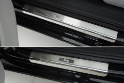 Example door sill plate stainless steel - 4 pieces (EA)