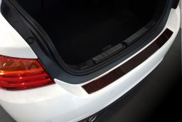 Example rear bumper protector carbon red