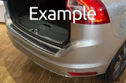 Example - Rear bumper protector stainless steel black