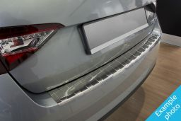 Example - Rear bumper protector stainless steel