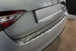 Example photo rear bumper protector stainless steel