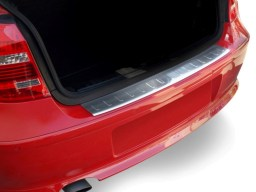 Seat Ibiza (6J) 2012- 5d rear bumper protector stainless steel (SEA13IBBP)