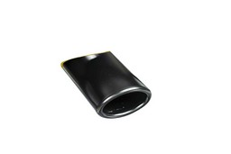 Exhaust trim steel carbon double pipe