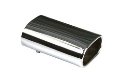 Exhaust trim stainless steel rectangle