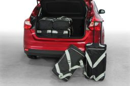 Ford Focus III 2011-heden 5d Car-Bags set