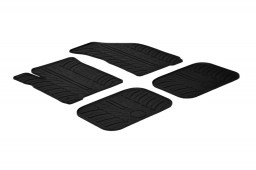 Fiat Freemont 2011-present car mats set anti-slip Rubbasol rubber (FIA1FRFR)