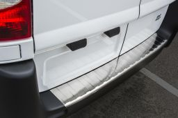 Fiat Scudo II 2007-2016 rear bumper protector stainless steel (FIA4SCBP) (1)