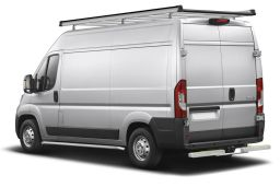 Fiat Ducato III 2006-present side bars stainless steel brushed 64 mm (FIA5DUSI) (3)