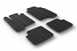 Fiat Panda III 2015-present 5-door hatchback car mats set anti-slip Rubbasol rubber (FIA5PAFR)
