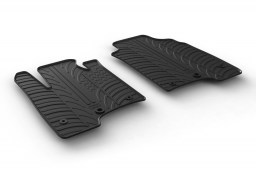 Fiat Panda III 2015-present 5-door hatchback car mats set anti-slip Rubbasol rubber (FIA6PAFR)