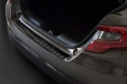 Rear bumper protector Fiat Tipo (Type 356) 2016-present 4-door saloon stainless steel anthracite (FIA9TIBP) (1)
