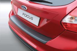 Ford Focus III 2010-2014 5-door hatchback rear bumper protector ABS (FOR10FOBP)