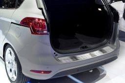 Ford B-Max 2012-> rear bumper protector stainless steel (FOR1BMBP) (1)