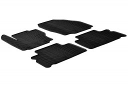 Ford S-Max 2006-2011 car mats set anti-slip Rubbasol rubber (FOR1SMFR)